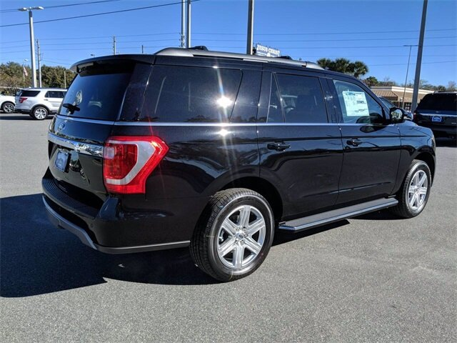 2020 Agate Black Ford Expedition XLT RWD SUV 4 Door EcoBoost 3.5L V6 GTDi DOHC 24V Twin Turbocharged Engine Automatic