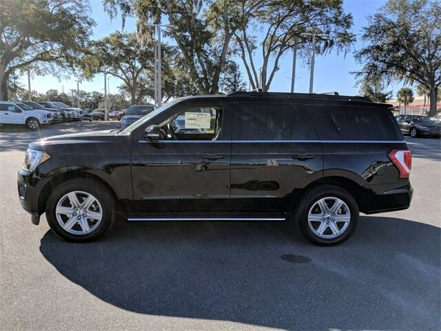 2020 Agate Black Ford Expedition XLT 4 Door Automatic RWD EcoBoost 3.5L V6 GTDi DOHC 24V Twin Turbocharged Engine