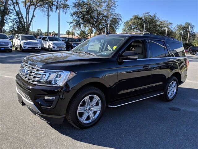 2020 Agate Black Ford Expedition XLT 4 Door SUV RWD EcoBoost 3.5L V6 GTDi DOHC 24V Twin Turbocharged Engine Automatic