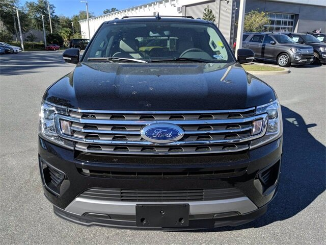 2020 Agate Black Ford Expedition XLT SUV 4 Door RWD EcoBoost 3.5L V6 GTDi DOHC 24V Twin Turbocharged Engine