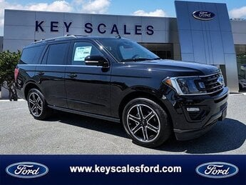 2019 Agate Black Metallic Ford Expedition Limited EcoBoost 3.5L V6 GTDi DOHC 24V Twin Turbocharged Engine Automatic 4 Door