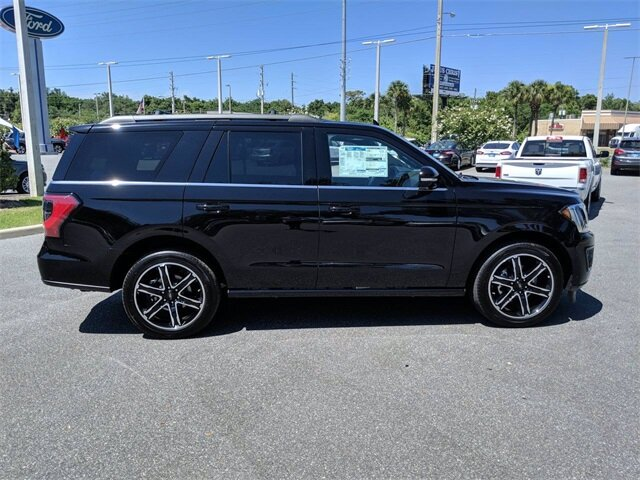 2019 Agate Black Metallic Ford Expedition Limited EcoBoost 3.5L V6 GTDi DOHC 24V Twin Turbocharged Engine RWD Automatic 4 Door SUV