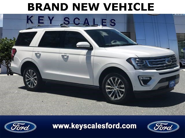 2018 Ford Expedition Limited 4 Door Twin Turbo Regular Unleaded V-6 3.5 L/213 Engine Automatic SUV RWD