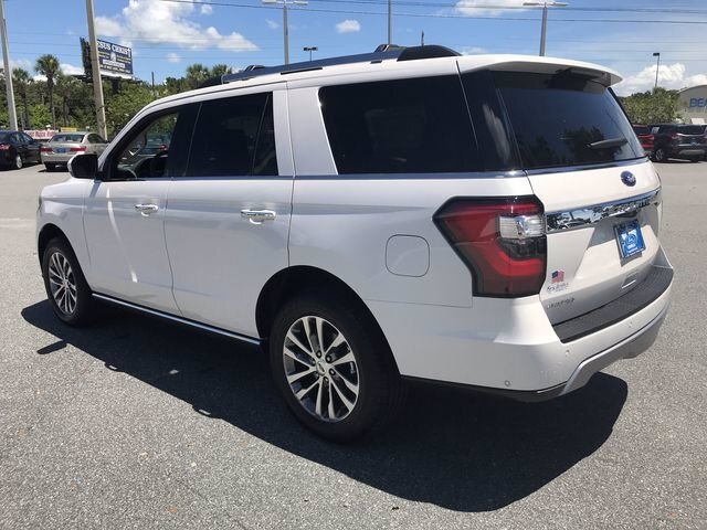 2018 White Platinum Metallic Tri-Coat Ford Expedition Limited SUV Automatic Twin Turbo Regular Unleaded V-6 3.5 L/213 Engine 4 Door