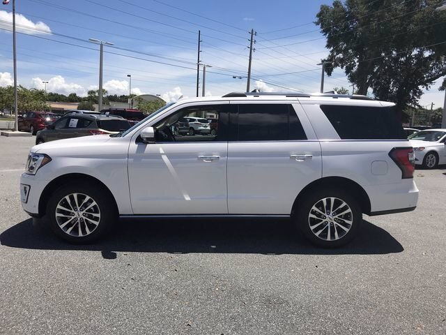 2018 White Platinum Metallic Tri-Coat Ford Expedition Limited RWD 4 Door Twin Turbo Regular Unleaded V-6 3.5 L/213 Engine