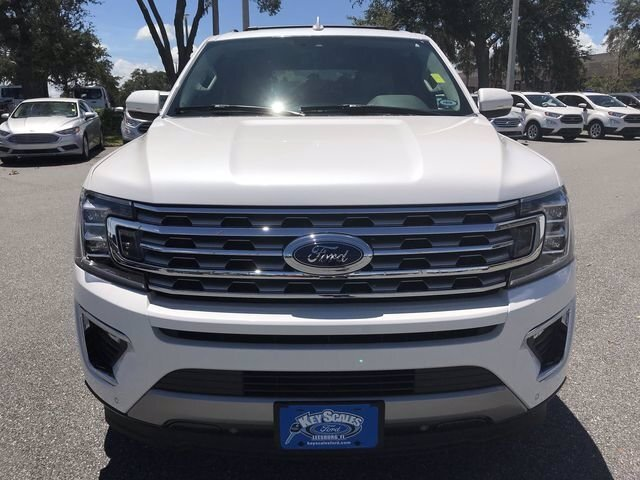 2018 White Platinum Metallic Tri-Coat Ford Expedition Limited Automatic RWD Twin Turbo Regular Unleaded V-6 3.5 L/213 Engine