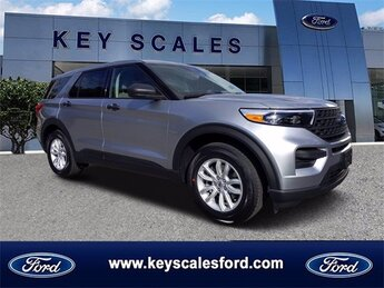 2021 Ford Explorer Base Automatic EcoBoost 2.3L I4 GTDi DOHC Turbocharged VCT Engine 4 Door RWD