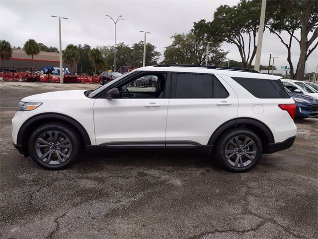 2021 Ford Explorer XLT EcoBoost 2.3L I4 GTDi DOHC Turbocharged VCT Engine RWD Automatic 4 Door SUV