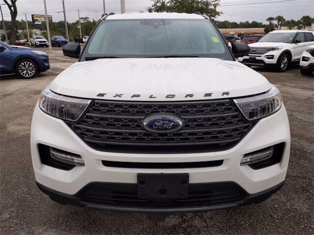 2021 Ford Explorer XLT SUV RWD Automatic 4 Door EcoBoost 2.3L I4 GTDi DOHC Turbocharged VCT Engine