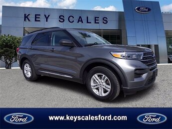2021 Ford Explorer XLT SUV EcoBoost 2.3L I4 GTDi DOHC Turbocharged VCT Engine 4 Door Automatic