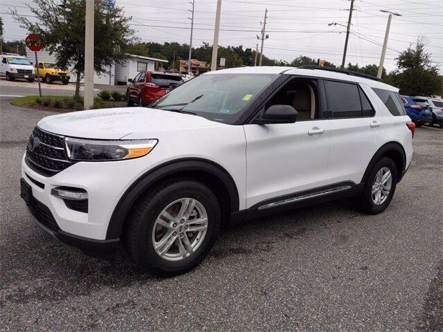 2021 Ford Explorer XLT RWD EcoBoost 2.3L I4 GTDi DOHC Turbocharged VCT Engine Automatic