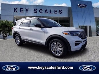 2021 Ford Explorer Limited EcoBoost 2.3L I4 GTDi DOHC Turbocharged VCT Engine Automatic SUV 4 Door RWD