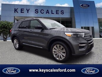 2021 Ford Explorer Limited EcoBoost 2.3L I4 GTDi DOHC Turbocharged VCT Engine 4 Door Automatic RWD SUV