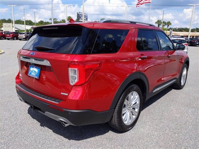 2020 Ford Explorer Limited 4 Door FWD EcoBoost 2.3L I4 GTDi DOHC Turbocharged VCT Engine SUV Automatic