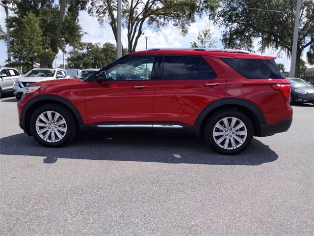 2020 Ford Explorer Limited 4 Door EcoBoost 2.3L I4 GTDi DOHC Turbocharged VCT Engine Automatic SUV FWD