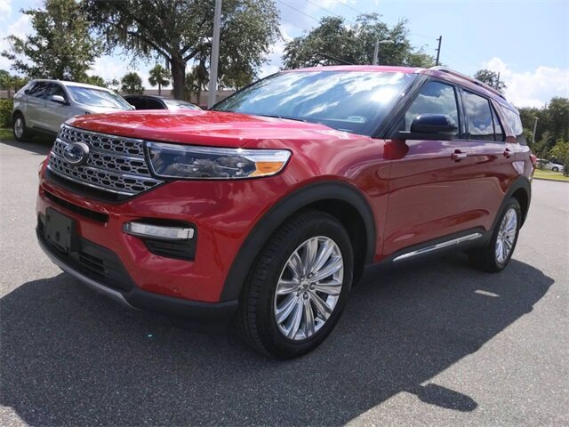 2020 Ford Explorer Limited FWD Automatic EcoBoost 2.3L I4 GTDi DOHC Turbocharged VCT Engine 4 Door SUV