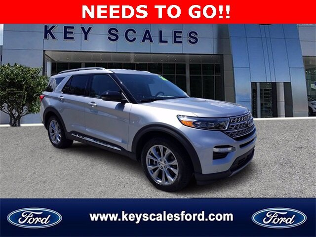 2020 Ford Explorer Limited SUV EcoBoost 2.3L I4 GTDi DOHC Turbocharged VCT Engine Automatic