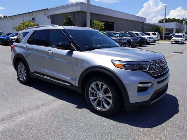 2020 Ford Explorer Limited 4 Door EcoBoost 2.3L I4 GTDi DOHC Turbocharged VCT Engine RWD Automatic