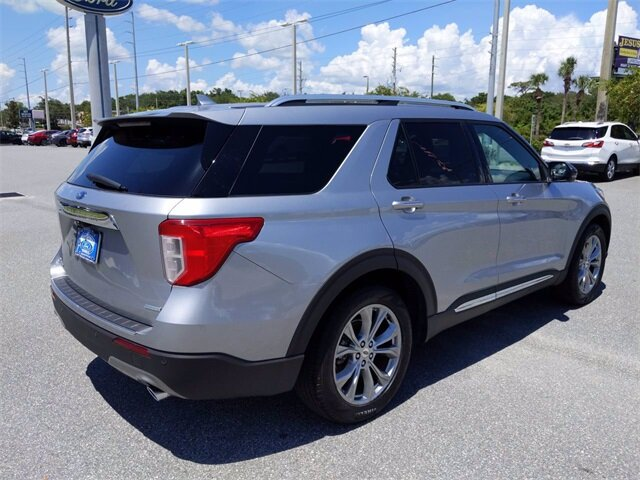 2020 Ford Explorer Limited SUV EcoBoost 2.3L I4 GTDi DOHC Turbocharged VCT Engine 4 Door