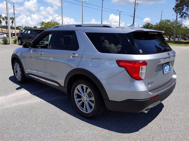 2020 Ford Explorer Limited 4 Door EcoBoost 2.3L I4 GTDi DOHC Turbocharged VCT Engine SUV RWD