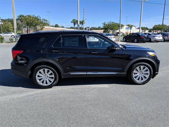 2020 Agate Black Metallic Ford Explorer Limited 4 Door FWD Automatic EcoBoost 2.3L I4 GTDi DOHC Turbocharged VCT Engine SUV