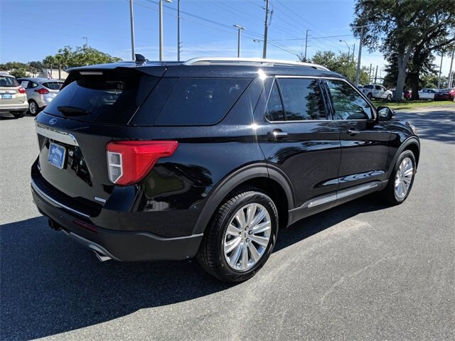 2020 Agate Black Metallic Ford Explorer Limited EcoBoost 2.3L I4 GTDi DOHC Turbocharged VCT Engine SUV FWD