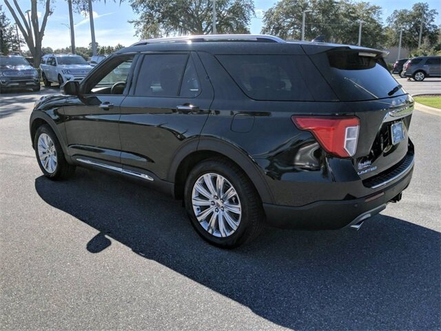 2020 Ford Explorer Limited SUV FWD 4 Door EcoBoost 2.3L I4 GTDi DOHC Turbocharged VCT Engine