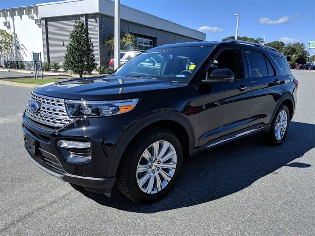 2020 Agate Black Metallic Ford Explorer Limited 4 Door Automatic SUV