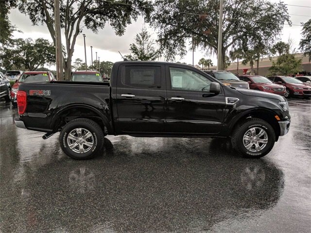 2019 Shadow Black Ford Ranger XLT EcoBoost 2.3L I4 GTDi DOHC Turbocharged VCT Engine Truck 4X4 4 Door Automatic