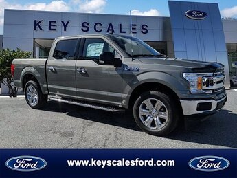 2020 Silver Spruce Metallic Ford F-150 XLT 4 Door RWD Truck Regular Unleaded V-8 5.0 L/302 Engine