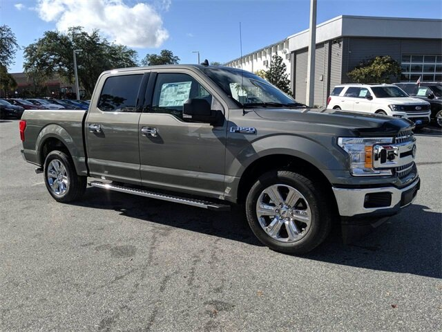 2020 Silver Spruce Metallic Ford F-150 XLT Automatic 4 Door RWD