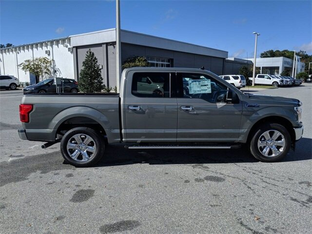 2020 Silver Spruce Metallic Ford F-150 XLT RWD Automatic 4 Door