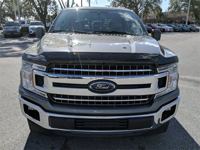 2020 Silver Spruce Metallic Ford F-150 XLT 5.0L V8 Engine Automatic RWD 4 Door Truck