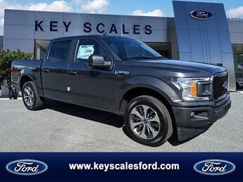 2020 Magnetic Metallic Ford F-150 XL Automatic RWD Truck