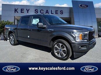 2020 Magnetic Metallic Ford F-150 XL 2.7L V6 EcoBoost Engine Truck 4 Door Automatic