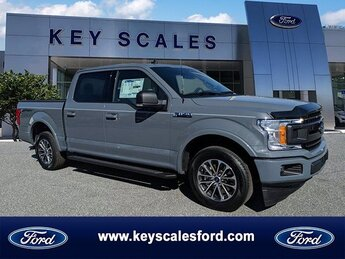 2020 Abyss Gray Metallic Ford F-150 XLT Automatic 4 Door RWD Truck