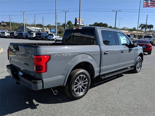 2020 Abyss Gray Metallic Ford F-150 XLT Truck 2.7L V6 EcoBoost Engine Automatic 4 Door