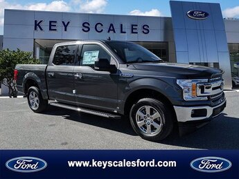 2020 Magnetic Metallic Ford F-150 XLT 2.7L V6 EcoBoost Engine Automatic Truck