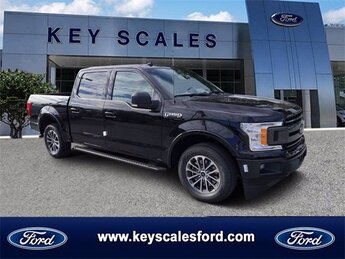 2020 Agate Black Metallic Ford F-150 XLT 2.7L V6 EcoBoost Engine 4 Door Truck