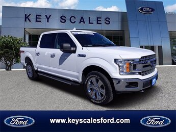 2018 Oxford White Ford F-150 XLT Automatic 5.0L V8 Engine 4 Door Truck