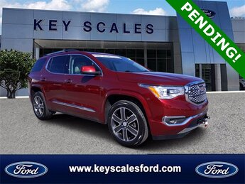 2018 Crimson Red Tintcoat GMC Acadia Denali 4 Door SUV Automatic