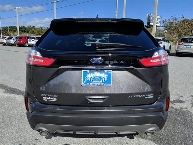 2020 Ford Edge Titanium FWD Automatic SUV 4 Door EcoBoost 2.0L I4 GTDi DOHC Turbocharged VCT Engine