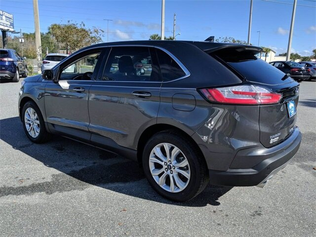 2020 Magnetic Metallic Ford Edge Titanium FWD SUV 4 Door EcoBoost 2.0L I4 GTDi DOHC Turbocharged VCT Engine