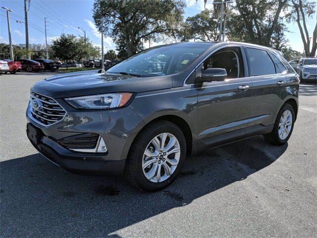 2020 Ford Edge Titanium FWD EcoBoost 2.0L I4 GTDi DOHC Turbocharged VCT Engine Automatic 4 Door