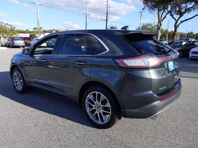 2015 Ford Edge Titanium 3.5L V6 Ti-VCT Engine FWD Automatic