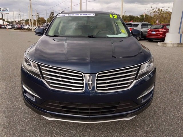 2017 Midnight Sapphire Blue Metallic Lincoln MKC Reserve Automatic AWD 4 Door