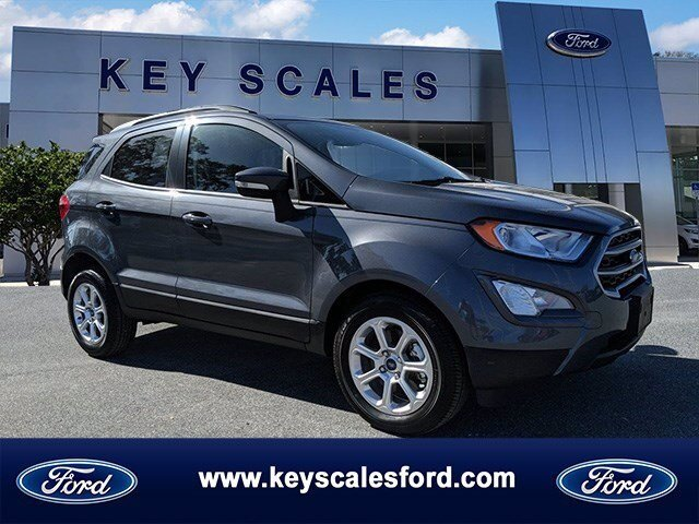 2020 Ford EcoSport SE Intercooled Turbo Regular Unleaded I-3 1.0 L/61 Engine SUV Automatic 4 Door