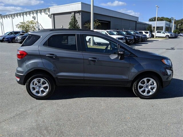 2020 Smoke Metallic Ford EcoSport SE SUV 4 Door Automatic Intercooled Turbo Regular Unleaded I-3 1.0 L/61 Engine