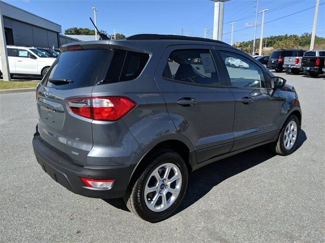 2020 Smoke Metallic Ford EcoSport SE Automatic SUV FWD 4 Door