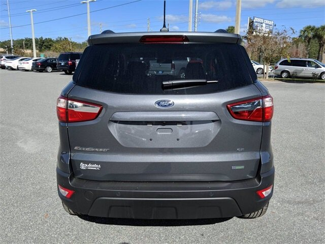 2020 Ford EcoSport SE FWD SUV 4 Door Automatic Intercooled Turbo Regular Unleaded I-3 1.0 L/61 Engine